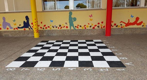 Schoolpleinhacks 3 schaken en dammen
